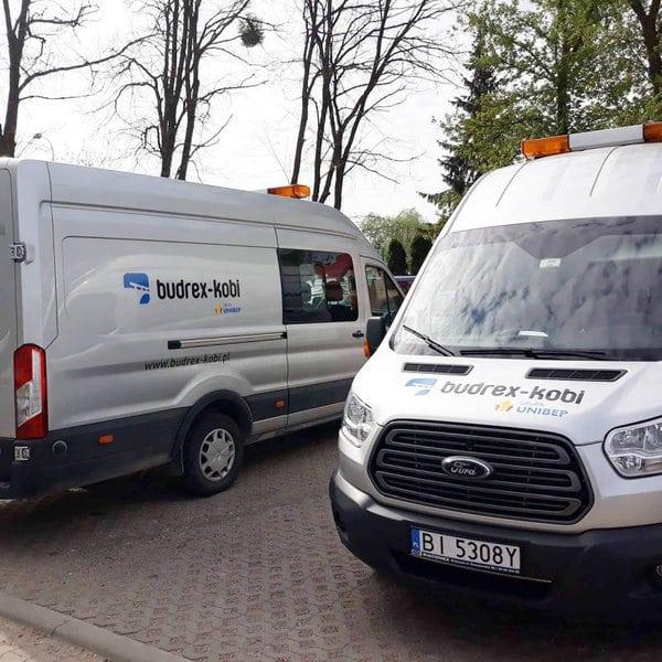 Oklejanie pojazdów służbowych Białystok