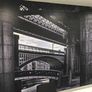 Fototapety na wymiar z widokiem mostów Białystok