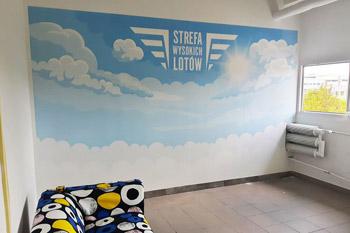 Fototapety na wymiar ze strefą wysokich lotów Białystok