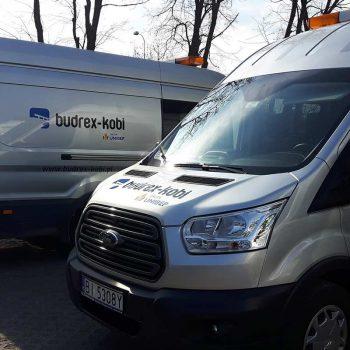 Oklejanie samochodów Budrex Kobi Białystok