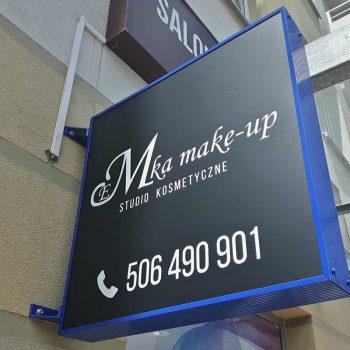 Reklama neonowa studia kosmetycznego Białystok