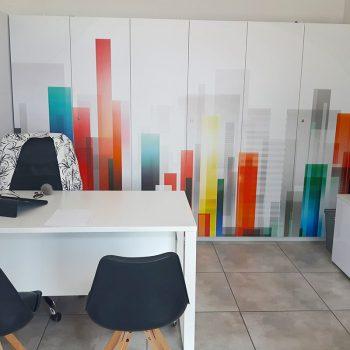 Wnętrze lokalu agencji reklamowej Białystok