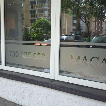 Reklama na szybach Białystok
