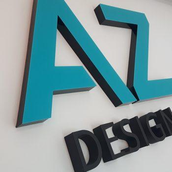 Reklama z liter 3D AZ Design Białystok