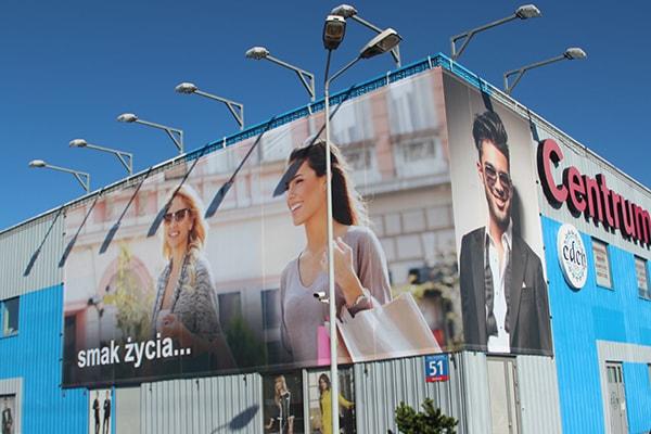 Reklama firmy spożywczej jako fototapeta Białystok