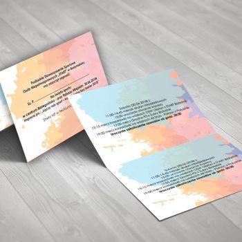 Zaproszenia studia graficznego Białystok